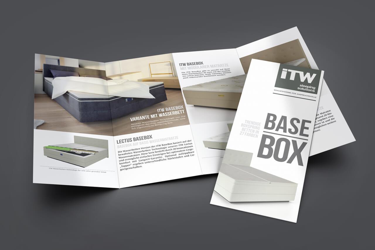 Markenrelaunch ITW sleeping solutions - Tom Koch Bespoke Communications