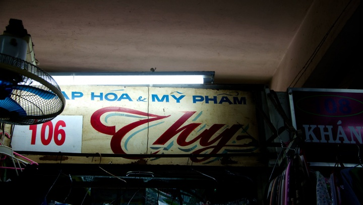 On the traces of old Saigon