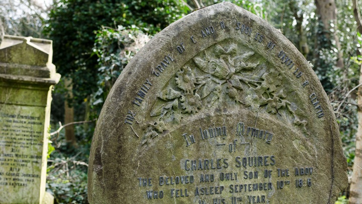 The secret of the  Gravestones at Abney Park